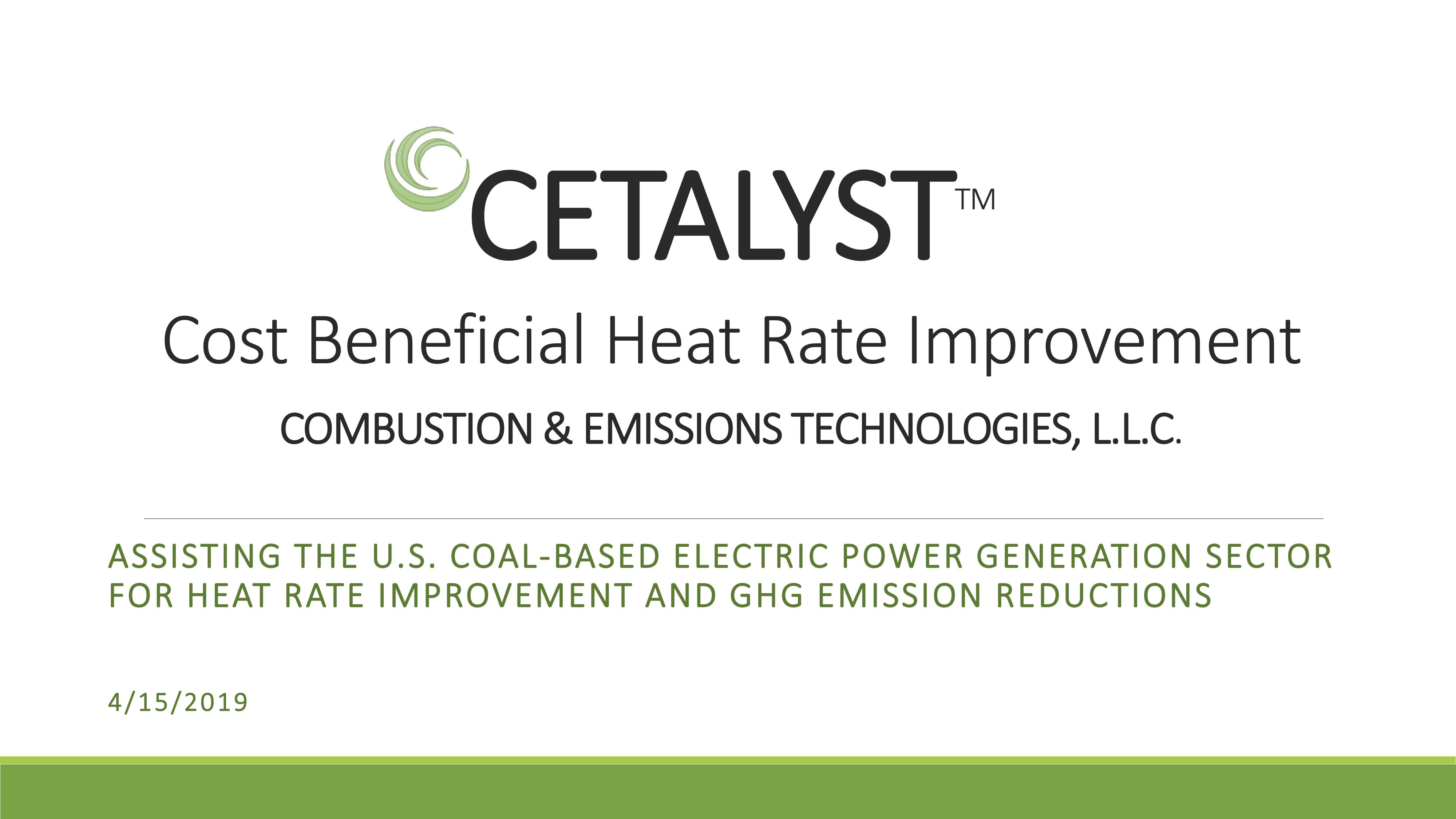 Heat Rate Presentation Final